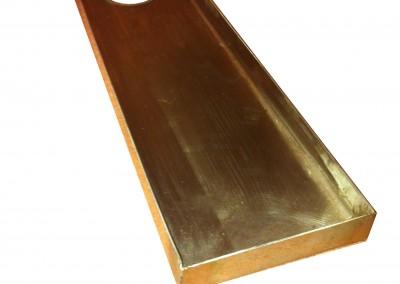 drain tray cutout