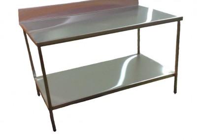 splashback with shelf