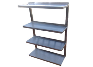 Four tier shelves